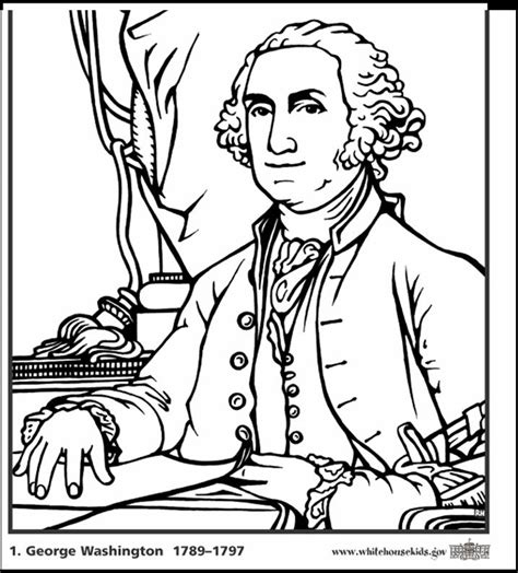 coloring page king george iii coloring page of george washington coloring home