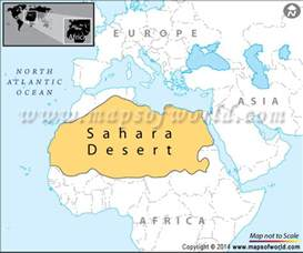 desert map desert location on world map get free image about