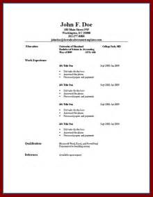 simple sle resume simple resume for simple resume jennywashere