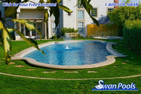 swan pools custom designs desert swan pools swimming pool gallery in the meadow