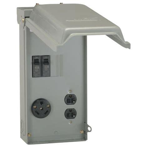 30 rv breaker box wiring diagram 30 rv outlet box