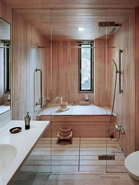 japanese shower 30 peaceful japanese inspired bathroom d 233 cor ideas digsdigs
