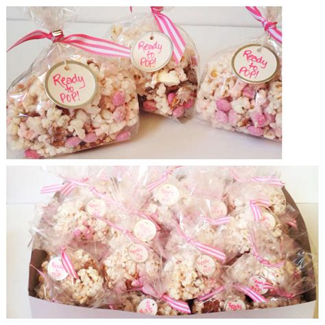 Baby Shower Favor Bags Ideas by Favor Bags Baby Shower Favors Bridal Shower Favors Popcorn