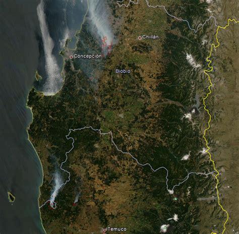 Imagenes Satelitales Chile | blog ide chile im 225 genes satelitales de los incendios de
