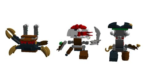 Lego Mixels Series 8 Medix Tribe Mixel Seri Sergio Skrubz Tuth 3 Pcs image pirate tribe back png mixels wiki fandom powered by wikia