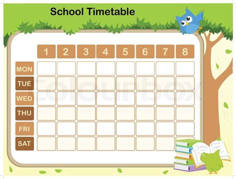 timetable templates for teachers timetable templates for school in excel format excel