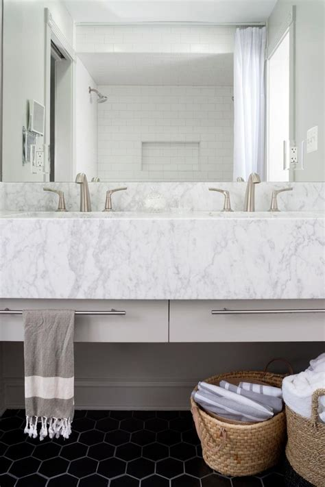 subway tile shower mirrored bathroom partitions modern a large mirror reflects the white subway tile shower walls