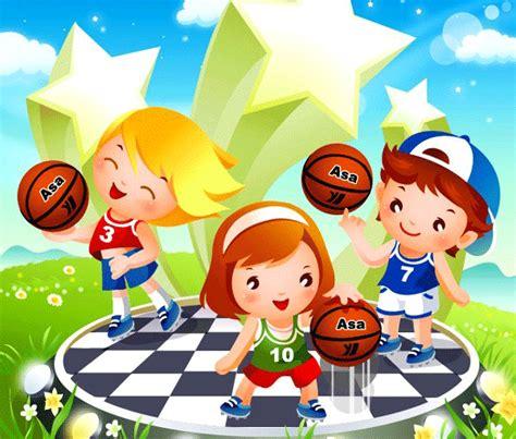 imagenes niños haciendo educacion fisica ni 241 os haciendo deporte para imprimir deportes