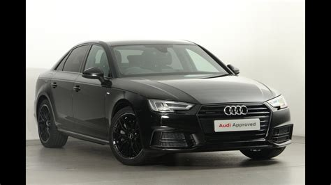 Audi A4 Black Edition by Fa17fsj Audi A4 Black Edition 2 0 Tfsi Quattro 252 Ps S