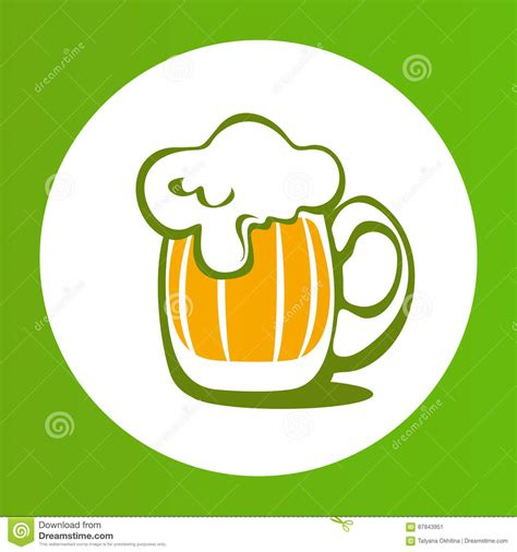 mug design background vector green beer 19 cartoon vector cartoondealer com 87843951