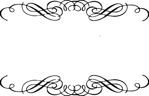 Wedding Scroll Border by Scroll Clipart 2 2 Clipartix