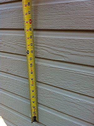 log siding measurements replacing your siding better measure