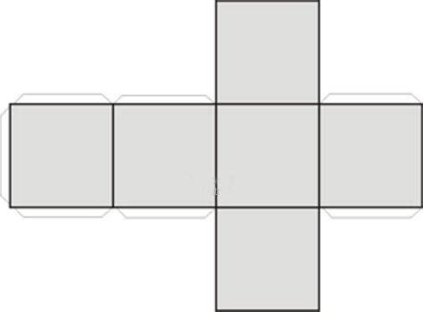 figuras geometricas un cubo cubo recortable imagui