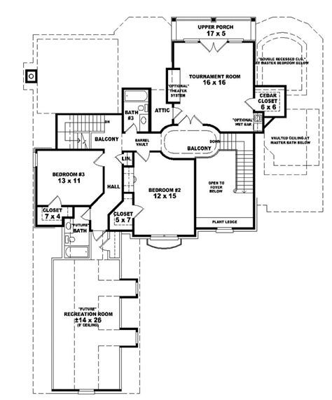 cavalier european luxury home plan 087d 1062 house plans