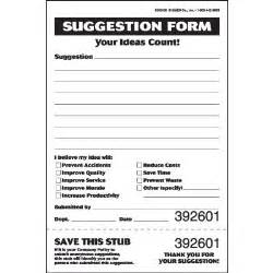 suggestion box template template design
