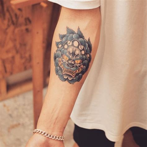 75 fantastic foo dog tattoo ideas a creature rich in