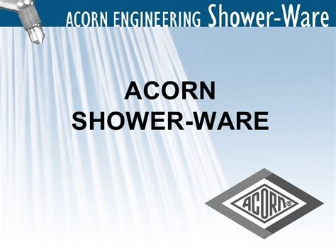 Acorn Shower by Acorn Engineering Shower Ware