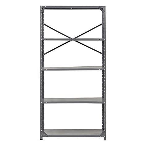edsal 7216h steel commercial shelving unit 36 quot width x 72