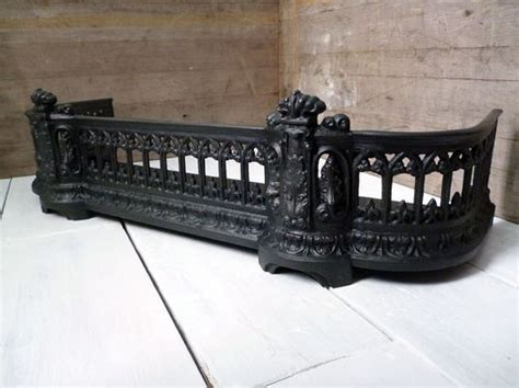 Cast Iron Fireplace Fender by Fender Cast Iron Fender By