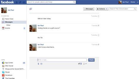 fb inbox facebook messages a rundown of its new look pcworld