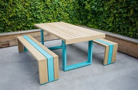 Cool Patio Tables Modern Picnic Table Landscaping Network