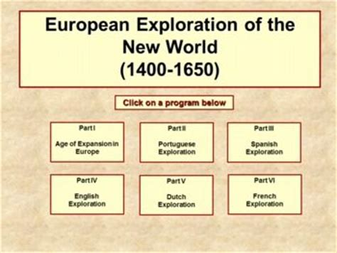 European Exploration Of The New World Essay by European Exploration Of The New World Powerpoint Notes Graphic Organizers A Well Student