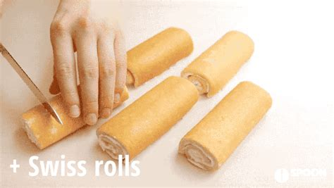 Souvenier Handuk Roll Cake Medium Size 3 ingredient swiss roll cake