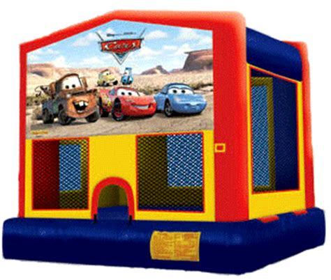 cars bounce house party rental miami party rental equipment in miami