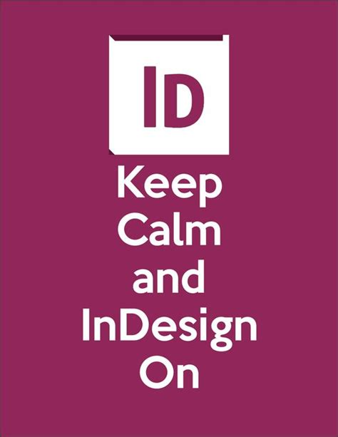 design poster in indesign keep calm and indesign on adobe indesign poster design