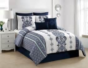 classics twilight 8pc comforter set blue
