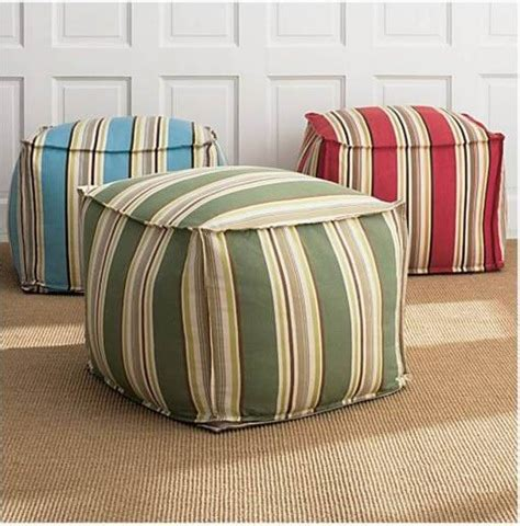Diy Cube Chair by Bean Bags Poufs Diy Home Decor