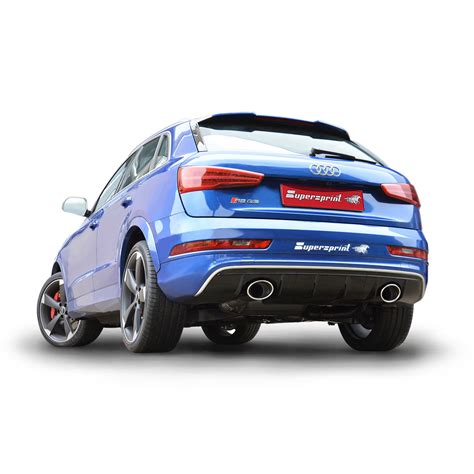 Audi Q3 Sportauspuff by Neue Sportauspuff F 252 R Audi Rs Q3 Mit Klappe Und Dual