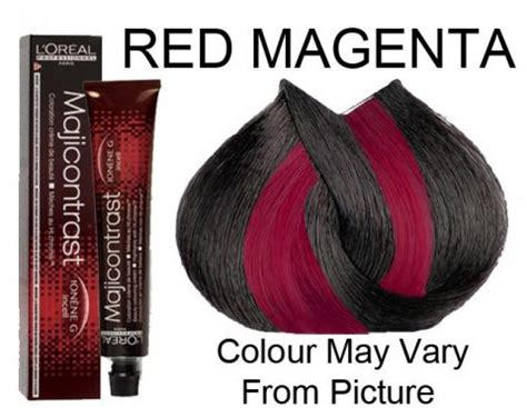 l oreal professionnel majicontrast magenta permanent hair color 50ml hair and