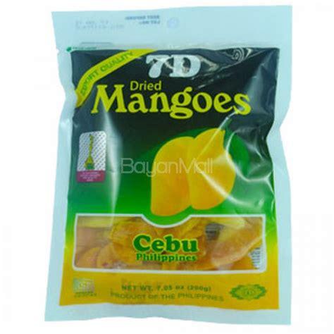 7d Dried Mango 7d dried mangoes cebu philippines 200g