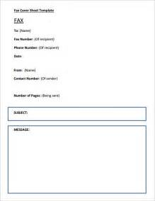 fax cover sheet template fax cover sheet template 6 free in word pdf