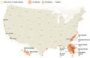 Shark Attacks In Florida Map by Memorial Day 2016 A Z Healthy Summer Survival Guide
