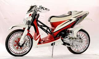 Modifikasi Motor F1 Zr Simple by Modifikasi Motor Yamaha 2016 Yamaha F1 Zr Modif Trail
