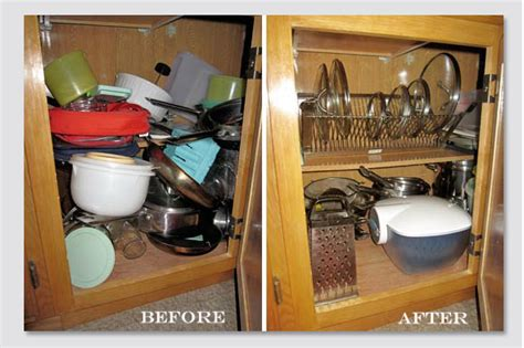 How To Organize Kitchen Drawers And Cabinets by Cleaning And Organizing Kitchen Cabinets