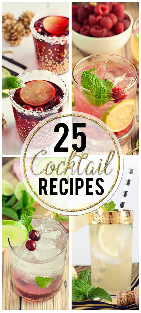new year mocktail recipes 25 new years cocktail recipes hairspray and highheels