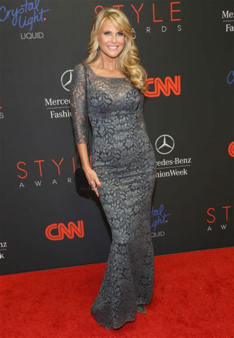 Beyonce And Christie Brinkley In Catherine Malandrino by Gallery Strut At Style Awards In New York
