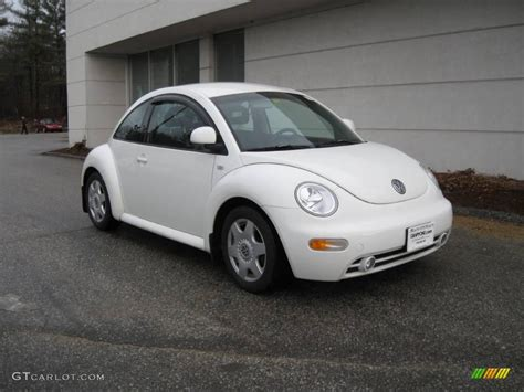 1999 Cool White Volkswagen Beetle Gls Coupe 6964109