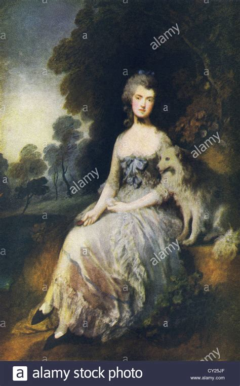 the dog house gainsborough this painting by thomas gainsborough titled mrs robinson stock photo royalty free