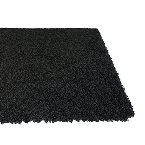 Plain Area Rug Soft Shag Area Rug 3x5 Plain Solid Color Black Contemporary Area Rugs For Living Room Bedroom