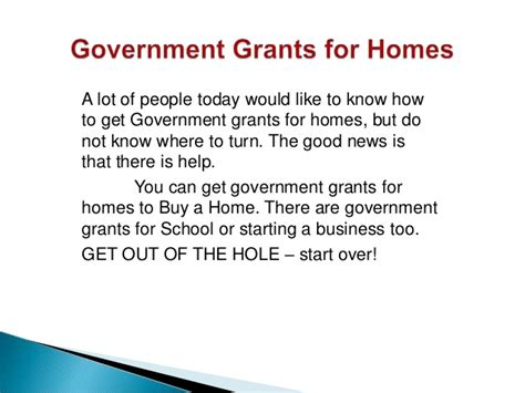 Government Grants To Buy A House 28 Images Government Grants Buy House 28 Images Federal