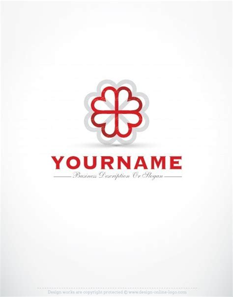 buy logo template buy hearts logo template free business card