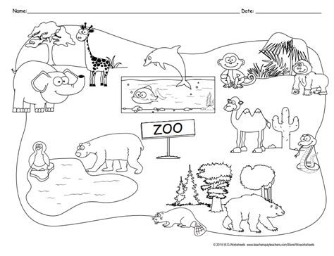 coloring pages of animals in their habitats becca the science other amazing educational things