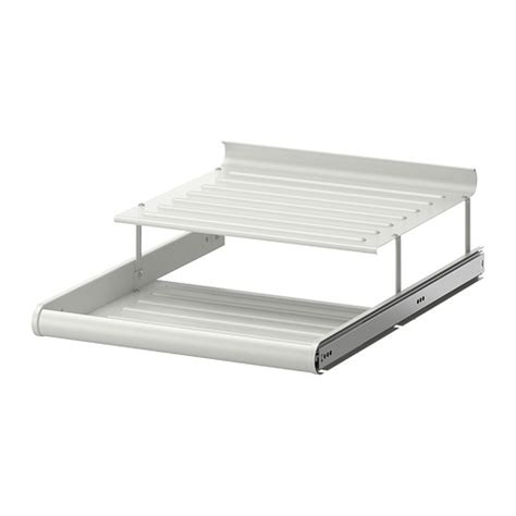 ikea pull out shelves komplement pull out shoe shelf white 19 5 8x22 7 8 quot ikea