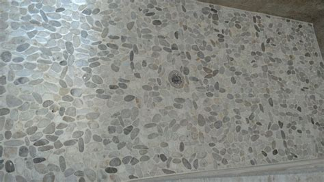 pebble shower floors just say no jones sweet homes