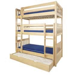 Diy triple bunk bed plans with dimensions triple bunk bed plans l