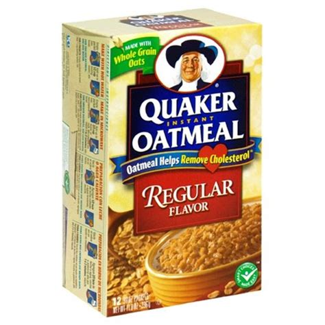 Quaker Oatmeal Instan instant quaker oats pictures to pin on pinsdaddy